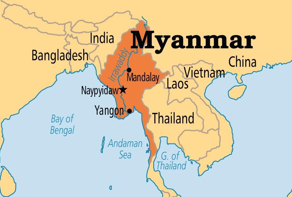 myanmar_mappa