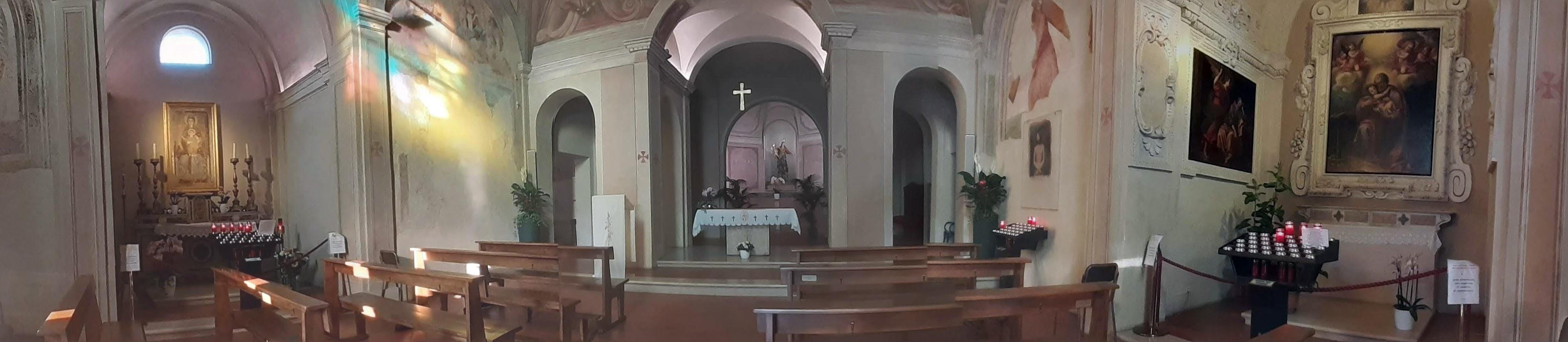 Santuario Ortica interno