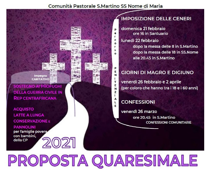 Quaresima 2021 proposta